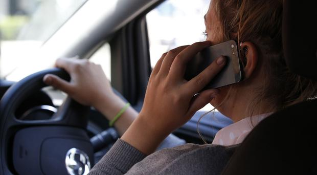 Although many studies point to mobile phone use at the wheel increasing, prosecutions have fallen by almost half in five years