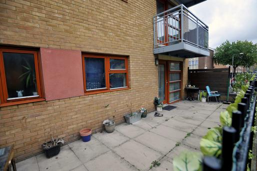 62 Cooke Street in Barking, east London, the home of murder suspect Stephen Port