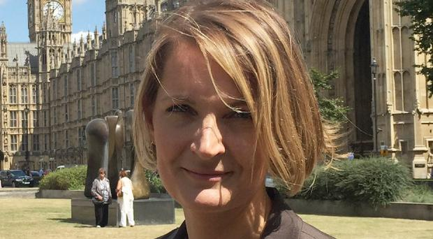 Women's Equality Party leader Sophie Walker said it is 'time to wake up to the real gender pay gap'