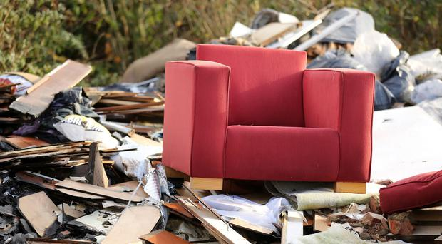 The costs of clearing up illegally dumped waste, two thirds of which was household rubbish, in places such as streets, alleyways and council land was nearly £50 million