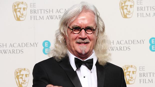 Comedian Billy Connolly suffers from Parkinson's disease