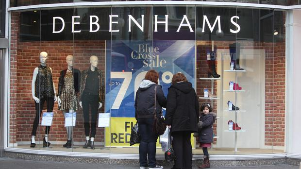 Debenhams reported a 7.3% rise in full-year pre-tax profits to £113.5 million