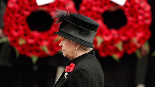 The service will be shortened to limit standing time for the Queen and ageing veterans