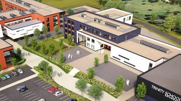 A grammar school in Tonbridge, Kent, was last week given the go-ahead to open an ''annexe'' catering to about 450 pupils at a site about seven miles away in Sevenoaks