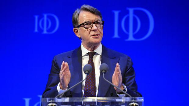 Blairite Lord Mandelson said he has so far been unimpressed by Jeremy Corbyn's leadership of Labour