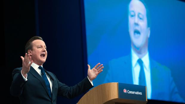 David Cameron spoke out against discrimination during his speech to Tories in Manchester