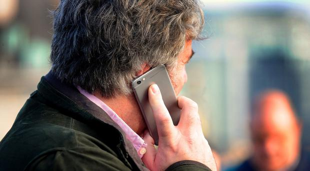 Nuisance calls to mobile phones are on the rise, a survey says