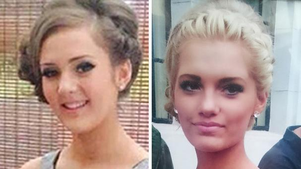 Jordanna Goodwin and Megan Storey were among the victims (South Yorkshire Police/PA)