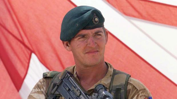 More than 1,300 people are expected to join a rally in support of jailed Royal Marine Sergeant Alexander Blackman, pictured here in 2001