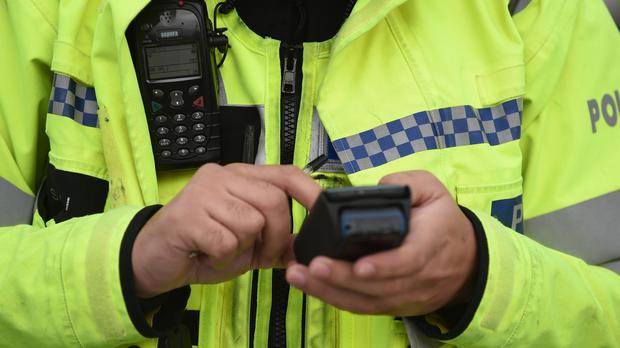 A West Midlands Police officer left a foul-mouthed voicemail message on a woman's phone