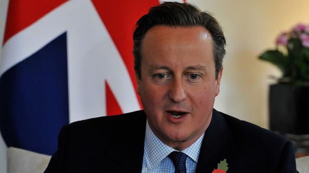 Lord Hamilton told fellow peers that David Cameron could