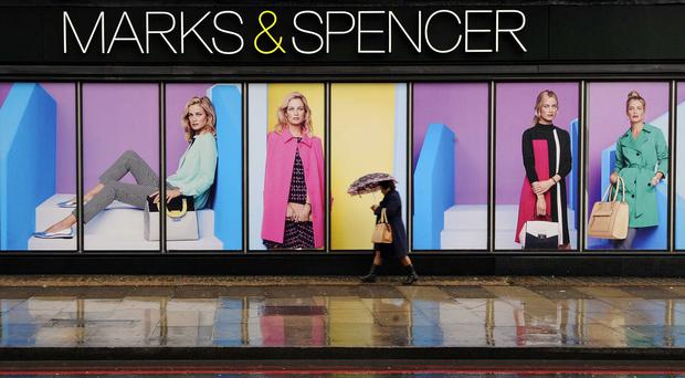 Marks & Spencer customers complained of problems with their online accounts
