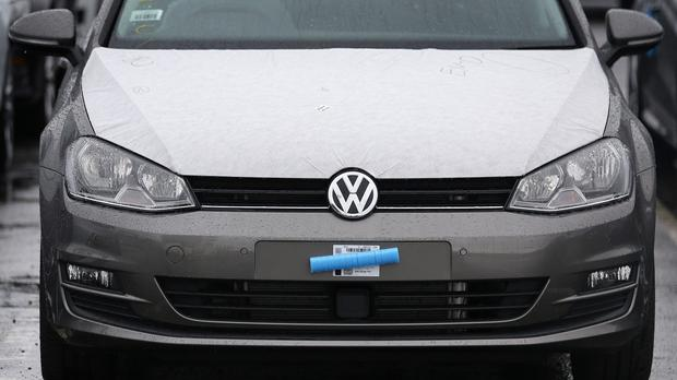 The figures show VW would have made a profit of 3.2 billion euros (£2.3 billion) if the 'diesel issue' had not emerged