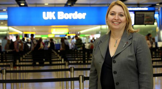 Karen Bradley said around two-thirds of victims were given