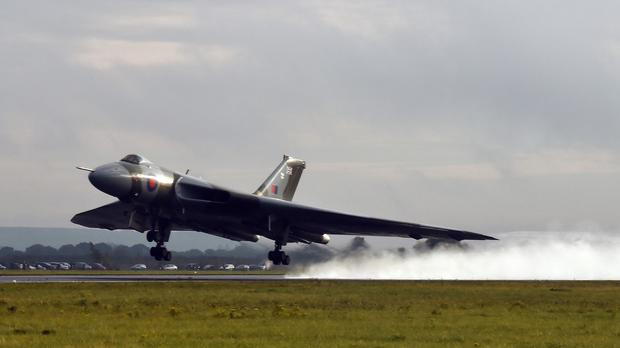 The Vulcan XH558, a restored nuclear bomber, has flown its last ever flight