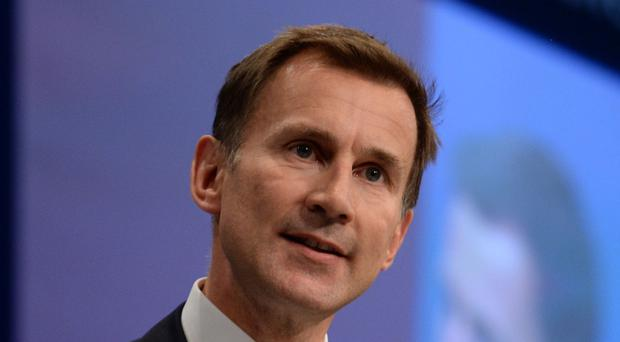 Health Secretary Jeremy Hunt unveiled plans for Ofsted-style ratings