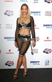 Excited: X Factor judge Rita Ora