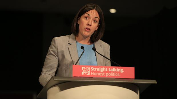 Scottish Labour leader Kezia Dugdale said 'a new generation of leadership has taken up the challenge of renewing our party'