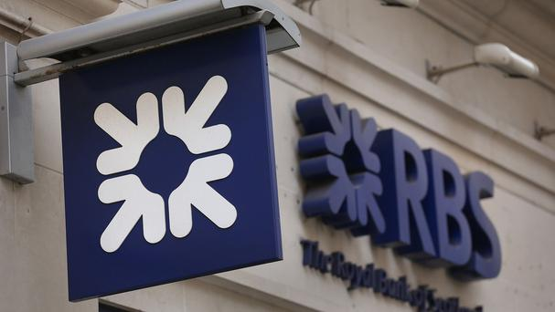There has been a steep fall in third-quarter profits for RBS