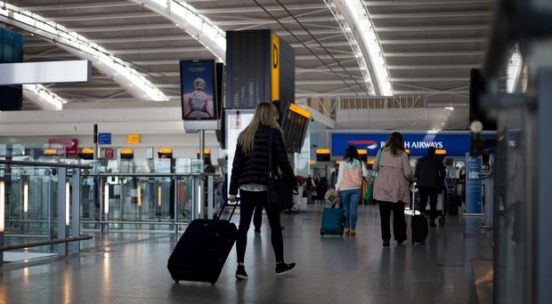 People aged 35 to 44 were least likely to travel abroad, the survey found