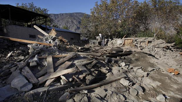 It is hoped the technology will help in the aftermath of natural disasters such as earthquakes (AP)