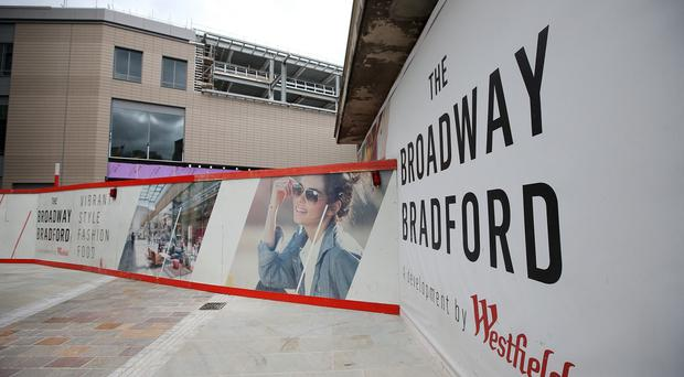The 72-store Broadway Bradford will open on November 5