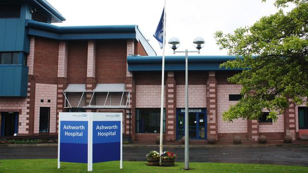 The high-security Ashworth Hospital in Merseyside