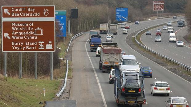 South Wales Police has since advised motorists to steer clear of the M4.