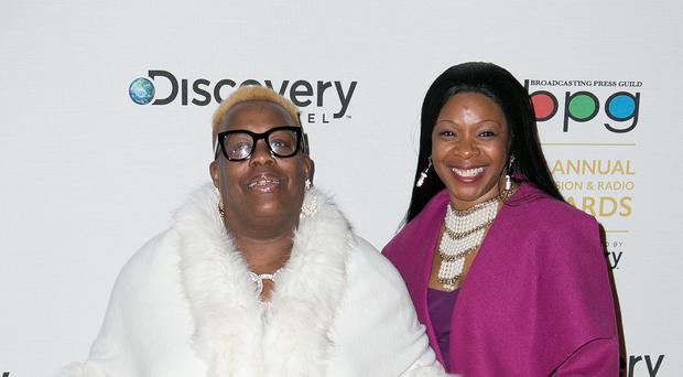 Sandra and Sandy, two of the stars from Gogglebox.