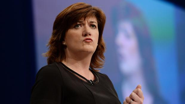 Nicky Morgan will address an event hosted by the Policy Exchange think-tank