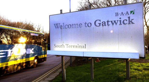 An advert for a car parking firm which operates around Gatwick airport has been condemned by the watchdog