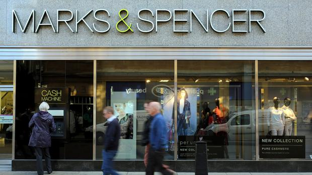 Marks and Spencer posted a 6.1% rise in half-year pre-tax profits to £284 million