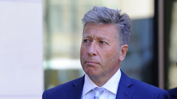 Neil Fox pictured after a preliminary hearing