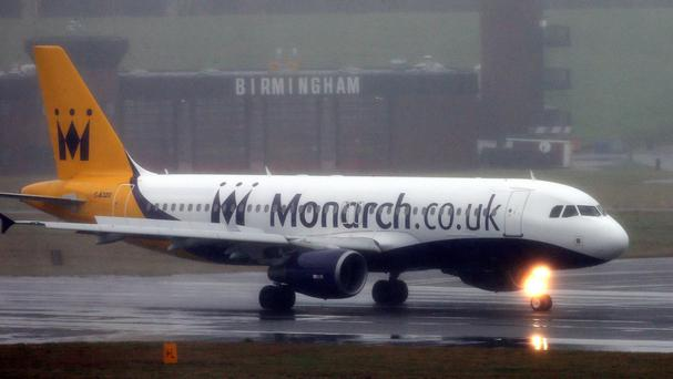 Monarch hopes to operate three 'rescue' and two scheduled flights