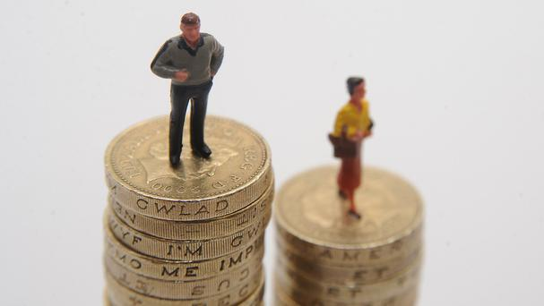 Men still earn more than women on average