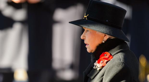 The Queen will attend the Royal Festival of Remembrance at the Royal Albert Hall