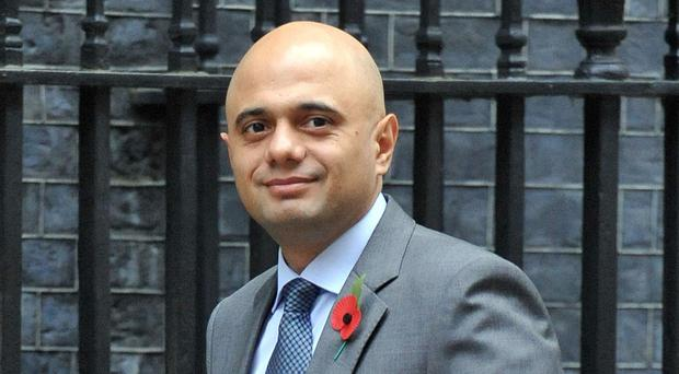 Business Secretary Sajid Javid is meeting EU counterparts