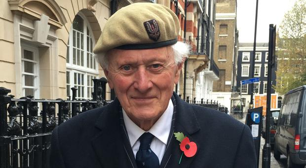 SAS veteran Peter Bennett, 80, who suffers from dementia, who is distraught after losing his service medals when he visited London for the opening of the Field of Remembrance at Westminster Abbey.