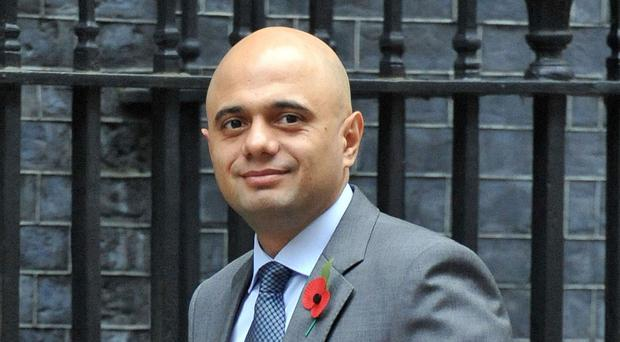 Sajid Javid, who will tell officials in Brussels that urgent action across Europe is needed to tackle the crisis in the steel industry.
