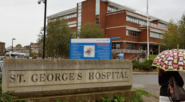 St George's Hospital Trust chief Christopher Smallwood has warned of a health care 'financial disaster'