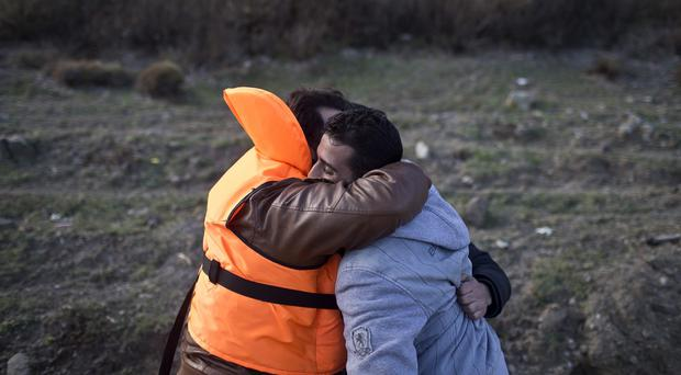A total of 115 migrants have crossed the Mediterranean Sea to Cyprus from Lebanon (AP)