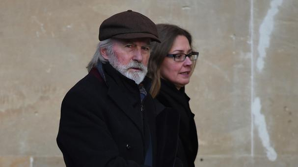 Roy Harper, pictured with an unidentified woman, said he had lost his livelihood after being informed of sex abuse allegations in February 2013