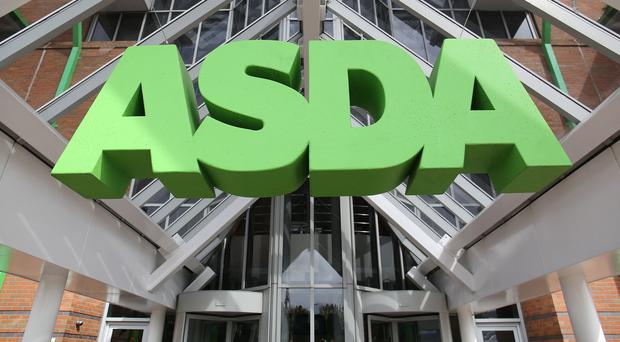 Asda, one of the supermarkets to suffer a big sales dip
