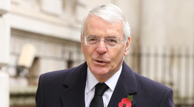 Sir John Major said too many poor people not only live meaner lives but shorter lives