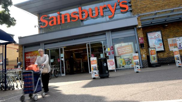 Sainsbury's saw like-for-like sales slide 1.6%