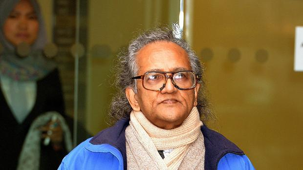 Aravindan Balakrishnan is accused of carrying out a