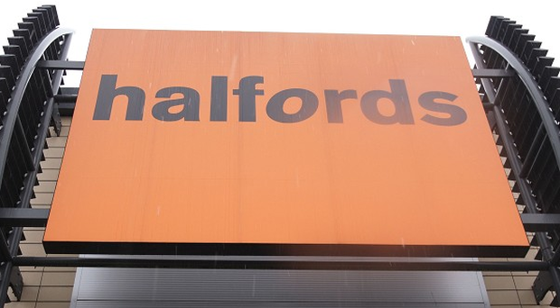 Halfords has 14 stores in Northern Ireland