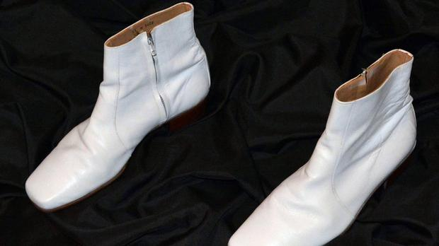 The boots were worn during The King's 1968 TV special