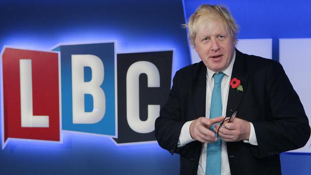Boris Johnson has urged the Prime Minister to seek a 'legislative brake' for the UK on EU laws