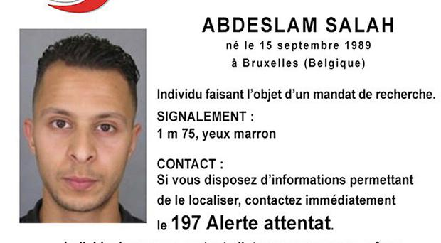 French police said Salah Abdeslam, 26, is dangerous and should not be approached (Police Nationale/PA)